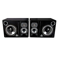 Trident Audio HG3 3-Way Active Studio Monitors with Adjustable Mid/High Section (HG3)