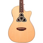 Luna Guitars Trinity Series Cutaway Parlor Acoustic-Electric Guitar
