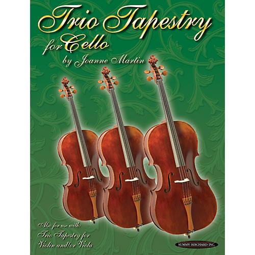 Alfred Trio Tapestry for Cello Book