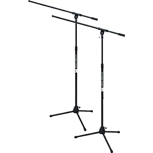 On-Stage Stands Tripod Mic Stand with Boom 2-Pack-thumbnail