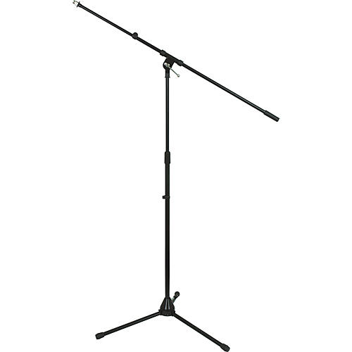 Musician's Gear Tripod Mic Stand with Telescoping Boom Black