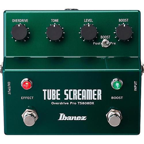 Ibanez Tube Screamer TS808DX Guitar Effects Pedal-thumbnail