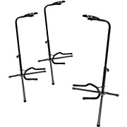 On-Stage Stands Tubular Guitar Stand 3-Pack