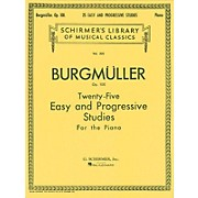 G. Schirmer Twenty-Five Easy And Progressive Studies For The Piano Op. 100 Complete 25