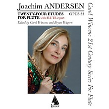 Lauren Keiser Music Publishing Twenty-Four Etudes for Flute, Op. 33 LKM Music Series Softcover
