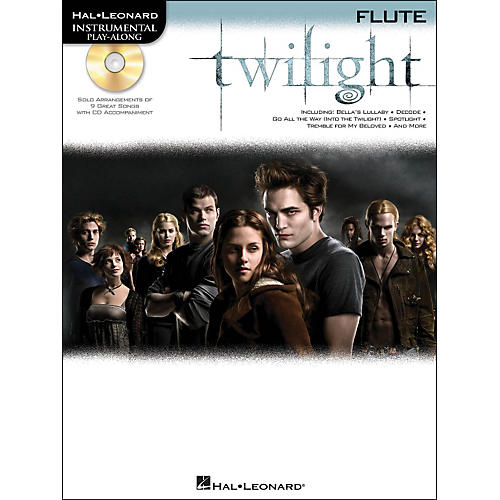 Hal Leonard Twilight For Flute - Music From The Soundtrack - Instrumental Play-Along Book/CD Pkg