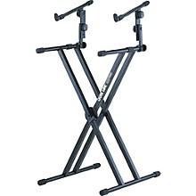 Quik-Lok Two Tier Heavy Duty X Keyboard Stand