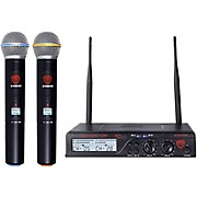 Nady U-2100 Cardioid Dynamic Wireless Handheld Microphone System/Band A/B