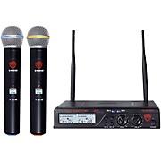 Nady U-2100 Cardioid Dynamic Wireless Handheld Microphone System/Band A/B