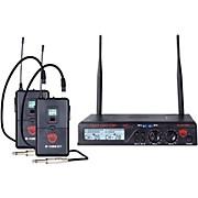 Nady U-2100 GT - Dual Channel UHF Wireless Guitar/Instrument System
