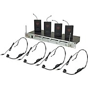 Nady U-41 Quad HM1 Headset Wireless System (14/16/10/12)