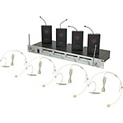 Nady U-41 Quad HM10 Headset Wireless System (14/16/10/12)