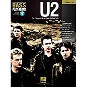 Hal Leonard U2 -Bass Play-Along Volume 41 Book/CD