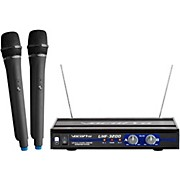VocoPro UHF-3200-5 2 CHANNEL UHF WIRELESS HANDHELD MICROPHONE