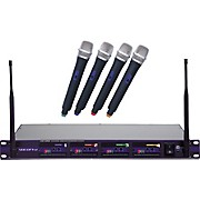 VocoPro UHF-5800 4-Microphone Wireless System