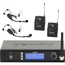 Gemini UHF-6100HL Dual Lavalier Wireless Headset System