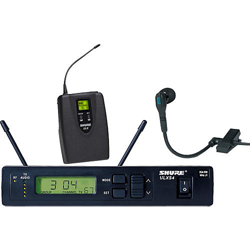 Shure ULXS14/98 Clip-On Wireless Instrument System-thumbnail