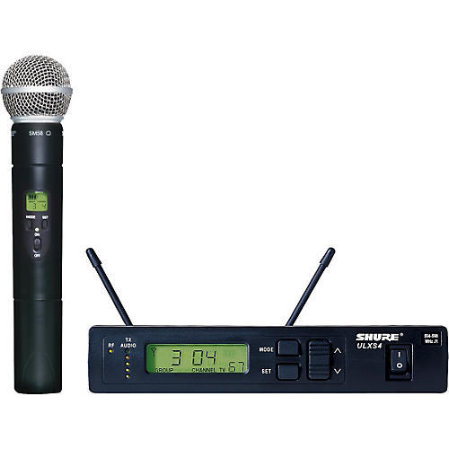 Shure ULXS24/58 Handheld Wireless Microphone System-thumbnail