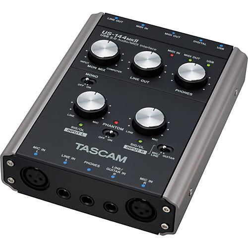 Tascam US-144MKII USB 2.0 4-channel Audio/MIDI Interface