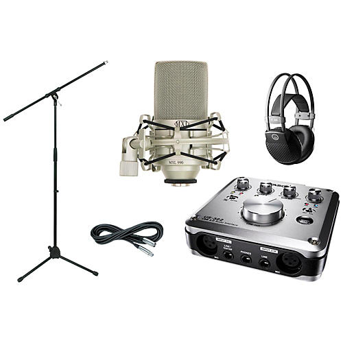 Tascam US-322 Recording Package-thumbnail