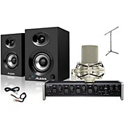 Tascam US-4x4 MXL 990 Elevate 3 Package