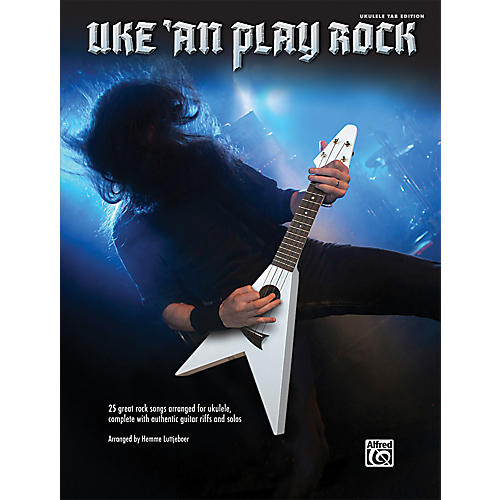 Alfred Uke 'An Play Rock for Ukulele Book