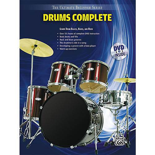 Alfred Ultimate Beginner Series Drums Complete Book & DVD-thumbnail