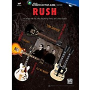 Alfred Ultimate Easy Guitar Play-Along: Rush - Easy Guitar TAB Songbook & DVD
