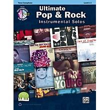 Alfred Ultimate Pop & Rock Instrumental Solos Tenor Sax (Book/CD)