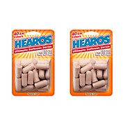 Hearos Ultimate Softness Bulk Pack Ear Plugs 20 Pair (Pack of 2)