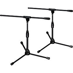 Ultimate Support PRO-T-SHORT-F Package - tripod base/fixed boom, short height 2-Pack (PRO-T-SHORT-F-2Pack)