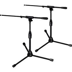 Ultimate Support PRO-T-SHORT-T Pkg-tripod base/telescoping boom,short height 2-Pack (PRO-T-SHORT-T-2Pack)