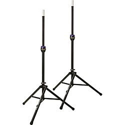 Ultimate Support TS-90B Telelock Tripod Speaker Stand Pair (TS-90B KIT)