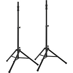 Ultimate Support TS100B Air-Powered Speaker Stand (2-Pack) (TS 100-2Pack)