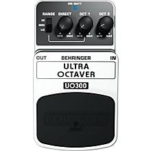 Behringer Ultra Octaver UO300 3-Mode Octaver Effects Pedal