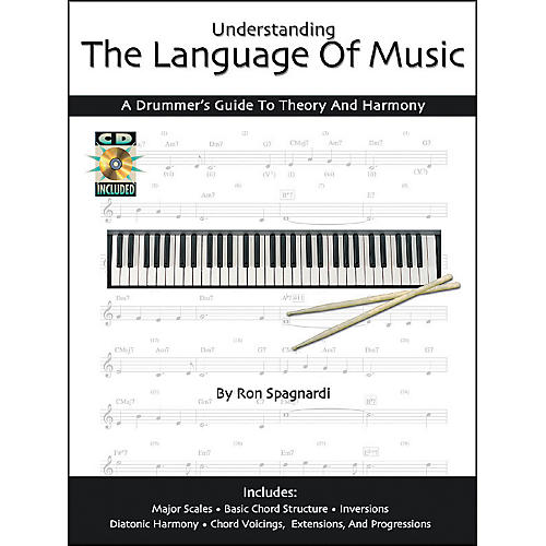 Modern Drummer Understanding the Language of Music: A Drummers Guide Book with CD