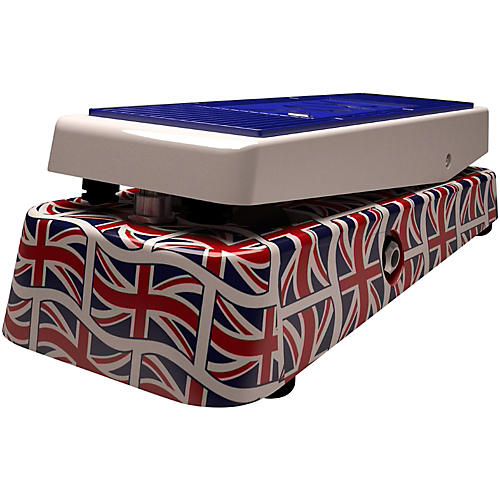 Vox Union Jack Limited Edition Wah Guitar Effects Pedal-thumbnail