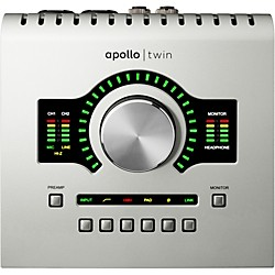 Universal Audio Apollo Twin DUO with Realtime UAD Processing (APTWD)