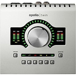 Universal Audio Apollo Twin SOLO with Realtime UAD Processing (APTWS)