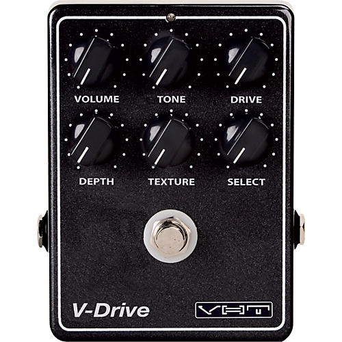 VHT V-Drive Overdrive Guitar Effects Pedal