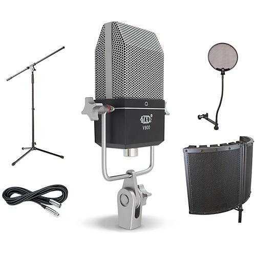 MXL V900 VS1 Stand Pop Filter and Cable Kit-thumbnail