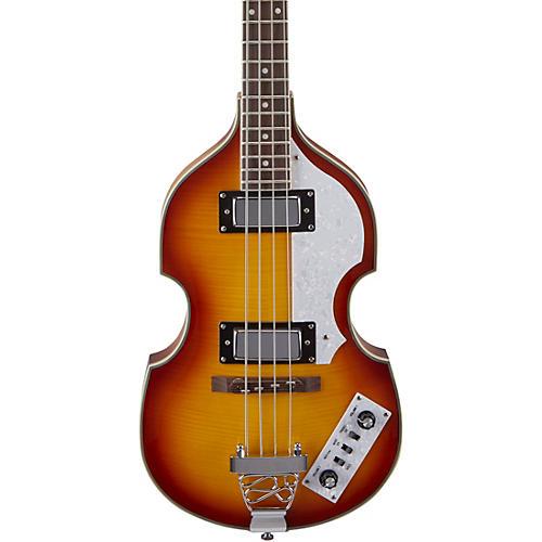 Rogue VB100 Violin Bass Guitar Vintage Sunburst