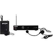 Gemini VHF-01HL Single Headset/Lavalier Wireless System