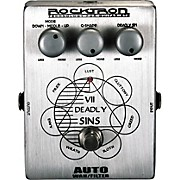 Rocktron VII Deadly Sins Auto Wah Guitar Effects Pedal