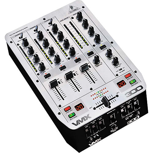Behringer VMX300 3-Channel Pro Scratch Mixer-thumbnail