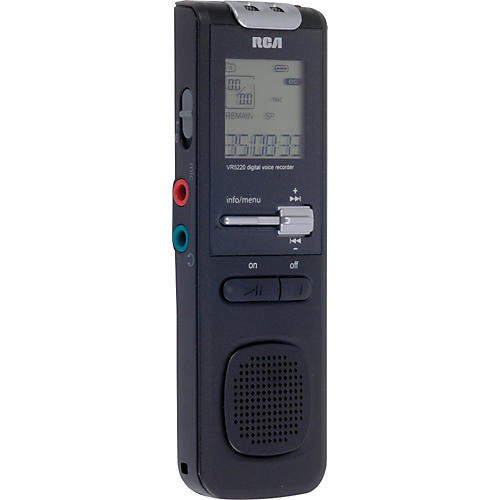 RCA VR5320R 1GB Digital Voice Recorder with Voice Management Software-thumbnail