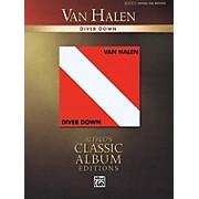 Alfred Van Halen - Diver Down Guitar Recorded Version Series Softcover Performed by Van Halen