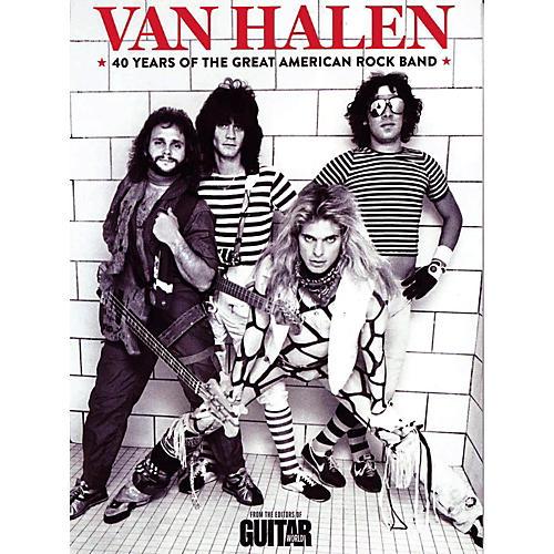 Hal Leonard Van Halen: 40 Years Of The Great American Rock Band-thumbnail
