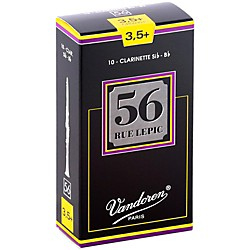 Vandoren 56 Rue Lepic Bb Clarinet Reeds (CR5035+)