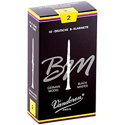 Vandoren Black Master Bb Clarinet Reeds (CR182)